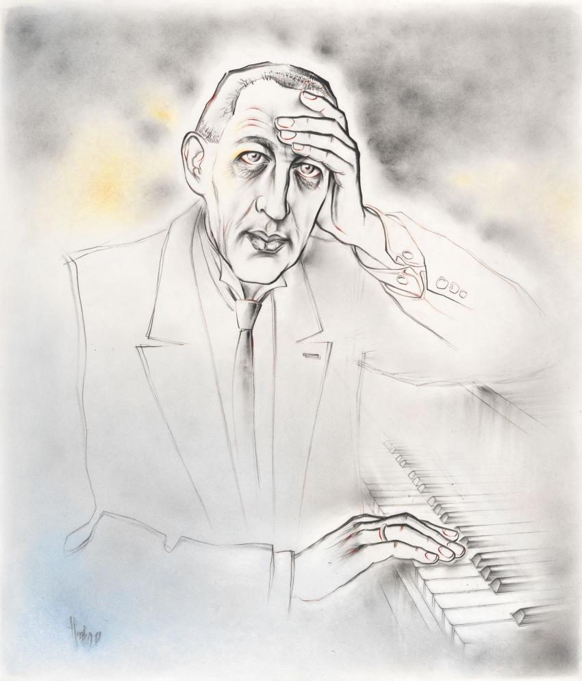 Sergei Rachmaninoff by Vildorius